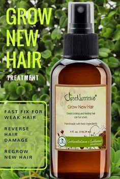 Encourage your hair to grow faster longer, fuller with less breakage with our nutrient rich products that help naturally sustain follicles for continued renewal and growth of healthy hair.