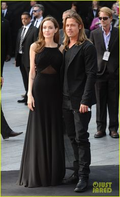 Angelina Jolie & Brad Pitt: World War Z World Premiere!