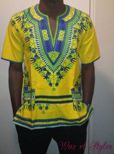 Chemise tunique légère adis abebas pour homme : Chemises par wax-et-styles