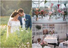 Bryllup på Rosendals Trädgård i Stockholm