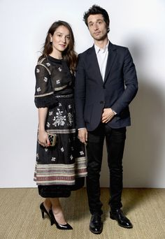 Anaïs Demoustier et Jérémie Elkaïm au dîner Chanel et Vanity Fair
