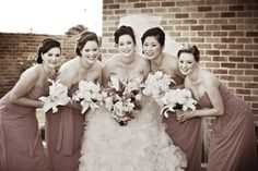 Love the sepia look by Total Brides hair & makeup
