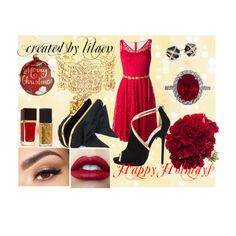 """""""Holiday outfit"""" by lilaen on Polyvore"""