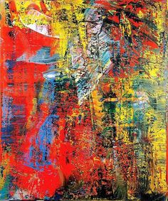 Painting by Gerhard Richter.if we go with a lighter neutral paint color we can be bold by adding select pieces of bright art we like intertwined with our professional stuff Contemporary Wall Art, Modern Art, Abstract Expressionism, Abstract Art, Abstract Paintings, Gerhard Richter Painting, Large Wall Art, Oeuvre D'art, Canvas Art