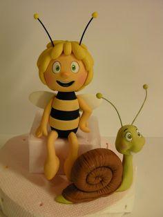 """Studio """"FONDANT DESIGN ANA"""" - Figurice za torte (fondant figures): MAYA THE BEE (PCELICA MAJA)"""