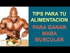 Como Aumentar Masa Muscular - http://ganarmusculoss.blogspot.com  Consejos a seguir en tu alimentacion para ganar masa muscular para obtener los mejores resultados posibles. Toma hidratos complejos en tu dieta para ganar musculo: Seguro que conoces a alguien en el gimnasio que se come un plato de arroz antes o después de entrenar