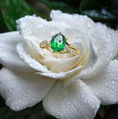Passion Twist Ring with Accents Personalized Promise Rings, Gold Rings, Gemstone Rings, Twist Ring, Birthstone Jewelry, Birthstones, Emerald, Fashion Jewelry, Diamonds