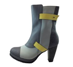 Siga Shoes Donela Boot Grey by SIGAShoes1 on Etsy