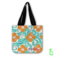 Cheap Lilly pulitzer wave Tote Bags