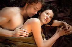 Outlander...Jamie and Claire Courtesy of Starz.
