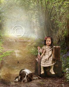 The little traveler by CindysArt on deviantART