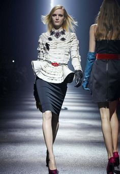 Lanvin, autumn - winter 2012/2013 collection