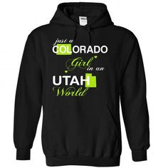 (COJustXanhChuoi001) Just A Colorado Girl In A Utah Wor - #hipster shirt #swag hoodie. WANT => https://www.sunfrog.com/Valentines/-28COJustXanhChuoi001-29-Just-A-Colorado-Girl-In-A-Utah-World-Black-Hoodie.html?68278