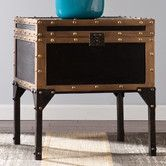 Found it at Wayfair - Draven Travel Trunk End Table