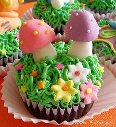 Creative Fridays: Springtime Cupcakes