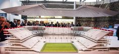 Project Eurostadium Belgium - 3d printed scale model by ZiggZagg - 3dprinting