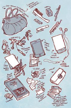 what's in my bag MEME by martinacecilia.deviantart.com on @deviantART
