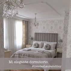ideas for bedroom wallpaper decor laura ashley Bedroom Green, Bedroom Colors, Home Bedroom, Bedroom Decor, Bedroom Ideas, Master Bedroom, Laura Ashley Bedroom, Colorful Apartment, Beige Living Rooms