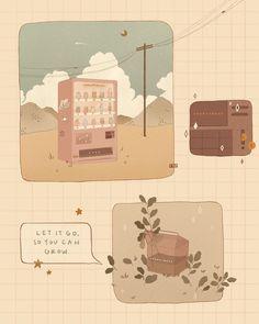 Wallpaper Doodle, Kawaii Wallpaper, Wallpaper Iphone Cute, Cute Wallpapers, Aesthetic Drawing, Aesthetic Art, Aesthetic Anime, Korean Aesthetic, Aesthetic Pastel Wallpaper