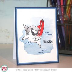 Hello Chum Clear Stamps We love our Hello Chum stamp set. The sentiments and shark images in this set are fun, fresh, and perfect for so many occasions. 28 tota
