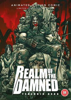New Trailer, Artwork & Images For Motion Comic REALM OF THE DAMNED: TENEBRIS DEOSIS   http://www.themoviewaffler.com/2017/02/new-trailer-artwork-images-for-motion.html