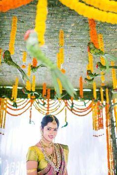 South Indian wedding decor !