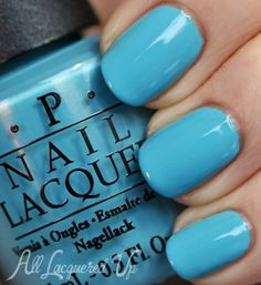 OPI Euro Centrale Spring 2013 Nail Polish Collection Swatches  - Can't Find My Czechbook