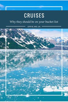Why cruises should be on your bucket list! Think exotic destinations, all inclusive luxury and stress free bookings for surprisingly accessible budgets. My cruise bucket list includes Antarctica, the river Nile and more!