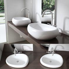 Notre avis sur le lavabo vasque à poser oblongue Bruxelles - ConsoBrico.com