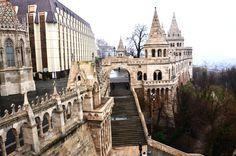 Fisherman'sBastion (Halászbástya), Budapest, Hungary   instagram: @queenetjuin   https://instagram.com/queenetjuin   Around the world. Travel the world. Lonely Planet.