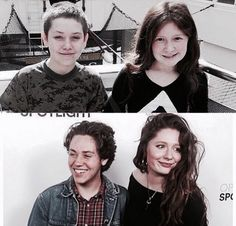 I can't believe that they were that young and now they're soooo grown up now❤