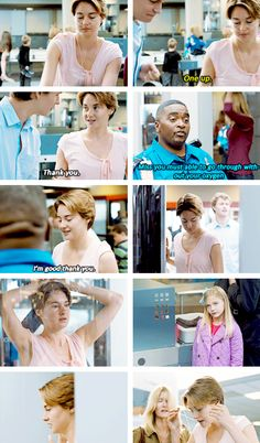 Deleted scene: Hazel at the airport