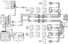 gmc truck wiring diagrams on gm wiring harness diagram 88 98 kc rh pinterest com 2007 GMC Sierra Wiring Diagram 1988 gmc sierra 1500 radio wiring diagram