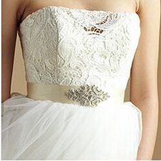 Bridal Belts Crystals Beading 2015 Stunning Fashion Hot Selling Wedding Sashes Bridal Accessories Top Quality Handmade from Marrysa,$9.19 | DHgate.com