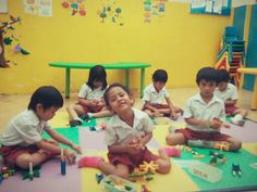 Learn children to make something with Lasy Toys.