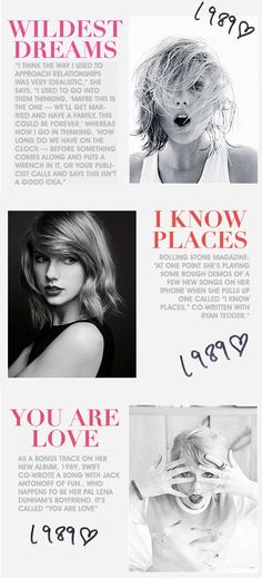 So there are duets!!! I'm so excited! Wildest Dreams is one that I must hear!