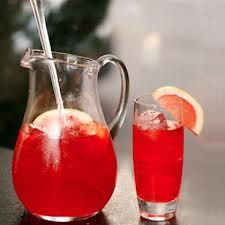 pitcher of fun... Rum Punch  1 1/2 cups light rum 3 cups freshly squeezed orange juice 3 cups fresh pineapple juice (canned will do... if you must) 3 tablespoons freshly squeezed lime juice 2 tablespoons cranberry juice 2 tablespoons grenadine