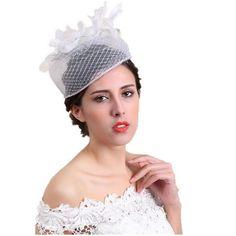 Wedding Fascinators For Sale - Wedding and Bridal Inspiration Wedding Fascinators, Crochet Hats, Bridal, Inspiration, Fashion, Knitting Hats, Biblical Inspiration, Moda, Fashion Styles