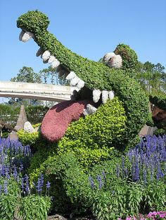 Will you also get a crocodile topiary while you're out camping?