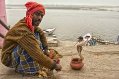 Veranasi India | Snake Charmer by Blindman shooting, via 500px