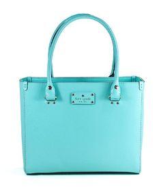 Kate Spade Wellesley Quinn Fresh Air Blue Handbag Wkru1428 New York