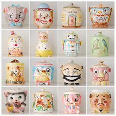 Vintage Cookie Jars!