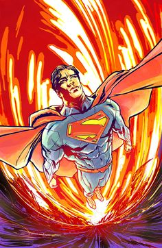 #Superman #Fan #Art. (Superman Cover Color) By: Thisismyboomstick. (THE * 5 * STÅR * ÅWARD * OF: * AW YEAH, IT'S MAJOR ÅWESOMENESS!!!™)[THANK U 4 PINNING!!!<·><]<©>ÅÅÅ+(OB4E)