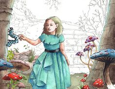 "Check out new work on my @Behance portfolio: ""Alice in Wonderland."" http://be.net/gallery/47627745/Alice-in-Wonderland"