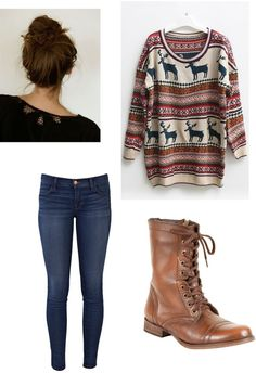 """Comfy Fall Day"" by emma-lee97 on Polyvore"