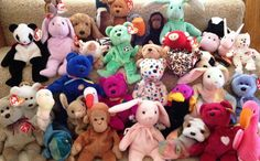 Are beanie babies worth money? Beanie Babies are no ordinary stuffed animals. Quite the sensation back in the Beanie Babies still causes frenzy among Beanie Babies Worth Money, Sell Beanie Babies, Most Expensive Beanie Babies, Valuable Beanie Babies, Beanie Babies Value, Beenie Babies, Beanie Bears, Ty Beanie, Beanie Buddies