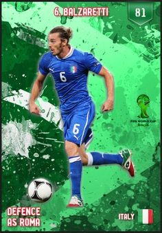 #Balzaretti Italy FIFA World Cup 2014 Lineup
