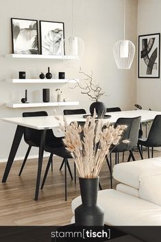 Design Tisch, Dining Room, Dining Table, Furniture, Home Decor, Houses, Dining Area Design, Conference Table, Types Of Wood