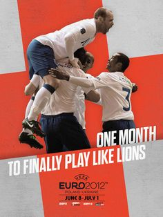 ENGLAND: ESPN EURO 2012 by Robert Broadbent, via Behance