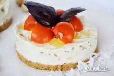 Mini Cheese Cake Salate con Ricotta e Pistacchi di Fatto in casa è più buono